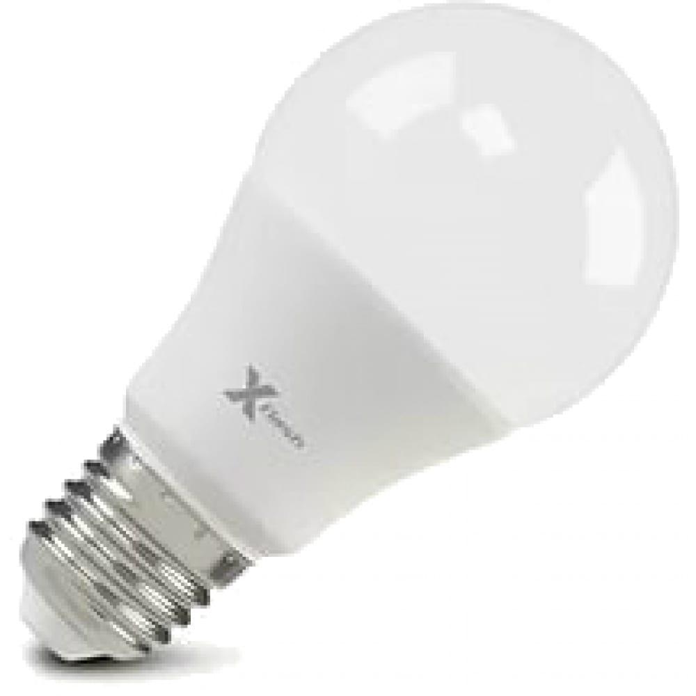 Светодиодная лампа x-flash xf-e27-a60-10w-2700k-230v 47550