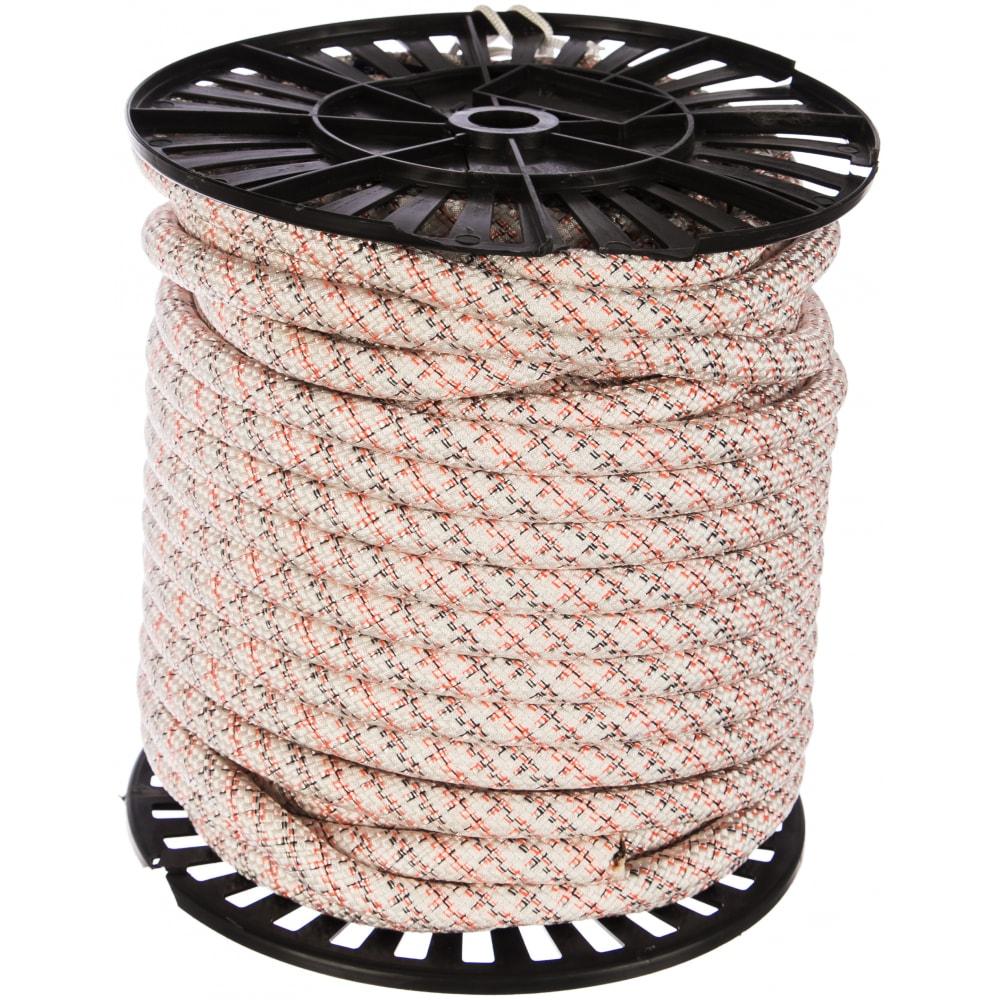 Купить Полиамидная капроновая веревка, 24-прядная, катушка, 16мм х 50м азотхимфортис 00071