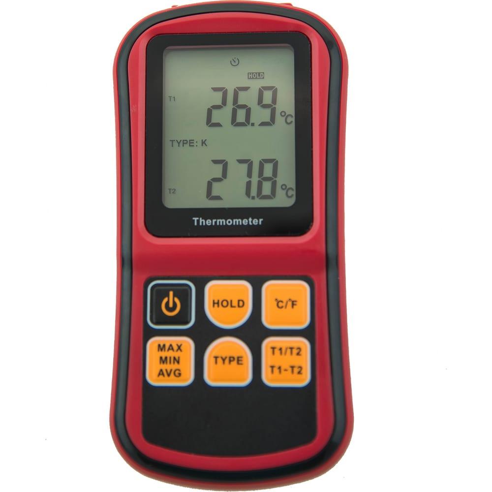 Цифровой двухканальный измеритель температуры мегеон 16312