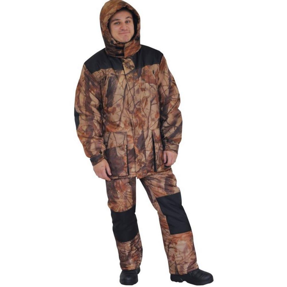 Костюм hunterman nova tour кедр р.xxxl 95851-705-xxxlКостюмы<br>Вес: 1.98 кг;<br>Тип: костюм с полукомбинезоном ;<br>Цвет: лес ;<br>Состав ткани: 100% полиэстер ;<br>Плотность ткани: 150 г/кв.м;<br>Размер: XXXL ;<br>Рост: 188 см;<br>Пропитка: Milky ;<br>Капюшон: есть ;<br>Тип застежки: молния ;<br>Защитные свойства: от пониженных температур воздуха ;<br>Основная ткань: Poly Taffeta ;<br>Отделочная ткань: оксфорд ;<br>Подкладка: есть ;<br>Москитная сетка: нет ;<br>Утеплитель: синтепон ;<br>Подходит для демисезонной носки: нет ;<br>Международный размер: XXXL (56-58) ;<br>Мембранный: нет ;<br>Тип расцветки: камуфляжный рисунок ;