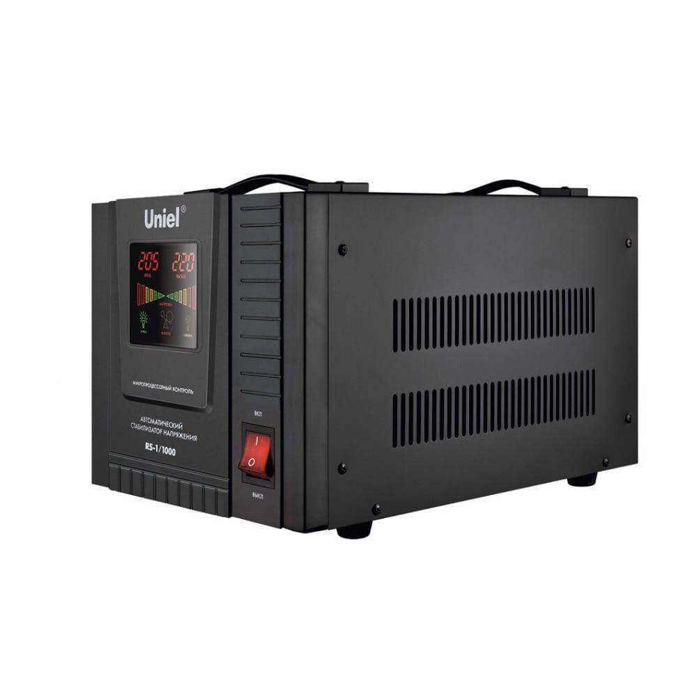 Напольный стабилизатор с гальванической развязкой uniel rs-1/1000 03108  - купить со скидкой