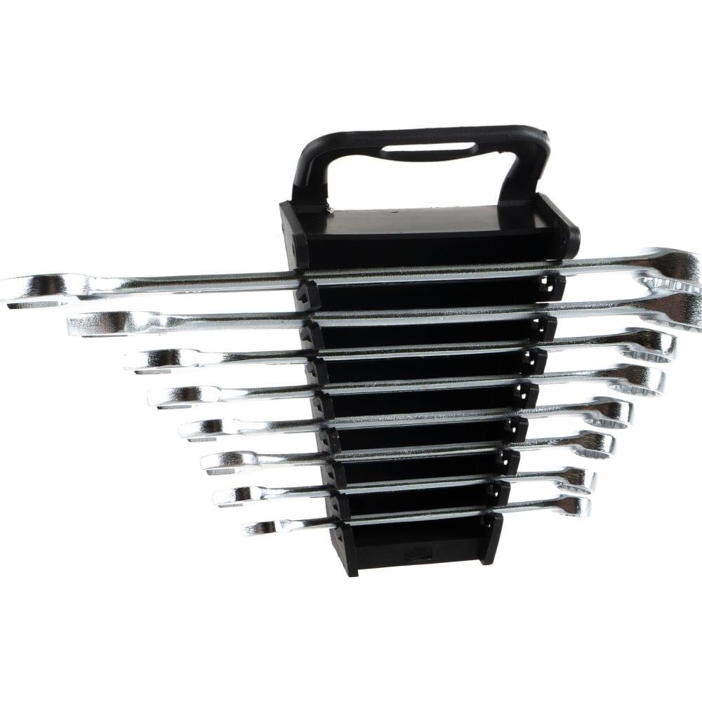 Купить Набор комбинированных ключей 8-19 мм, crv, 8 шт сибртех 15448