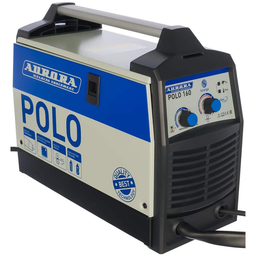 Инверторный сварочный полуавтомат aurora polo 160 synergic igbt 18759