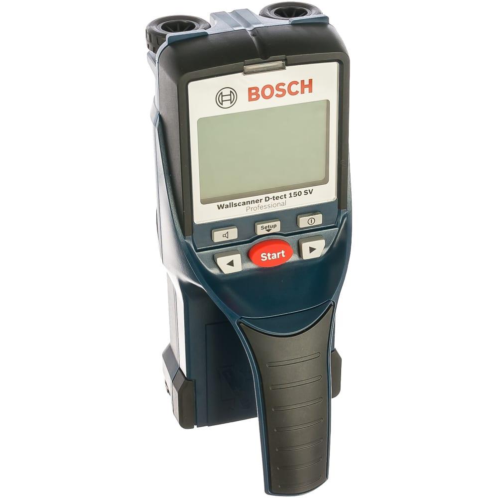 Универсальный детектор bosch d-tect 150 sv 0.601.010.008