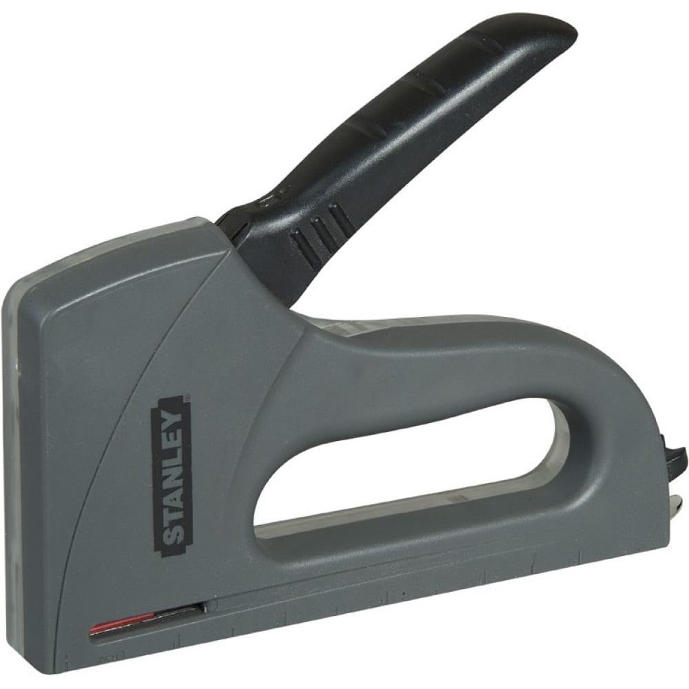 Степлер с извлекателем скобы для скоб типа а 6-10мм eu stanley light duty tr40 6-tr40