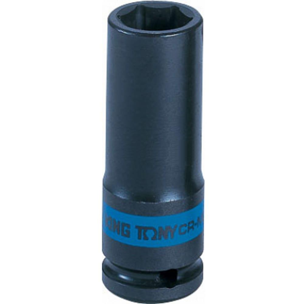 Купить Головка торцевая ударная глубокая шестигранная (21 мм; 3/4 ) king tony 643521m