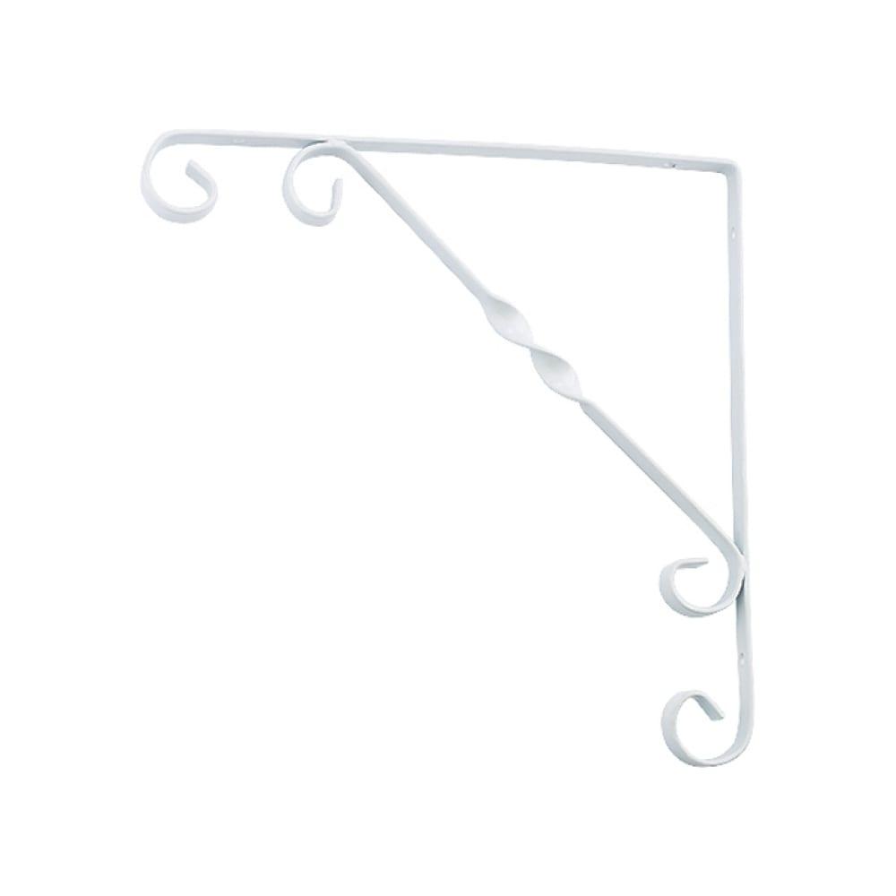 Купить Декоративный кронштейн сибртех 150х150 мм белый 94050