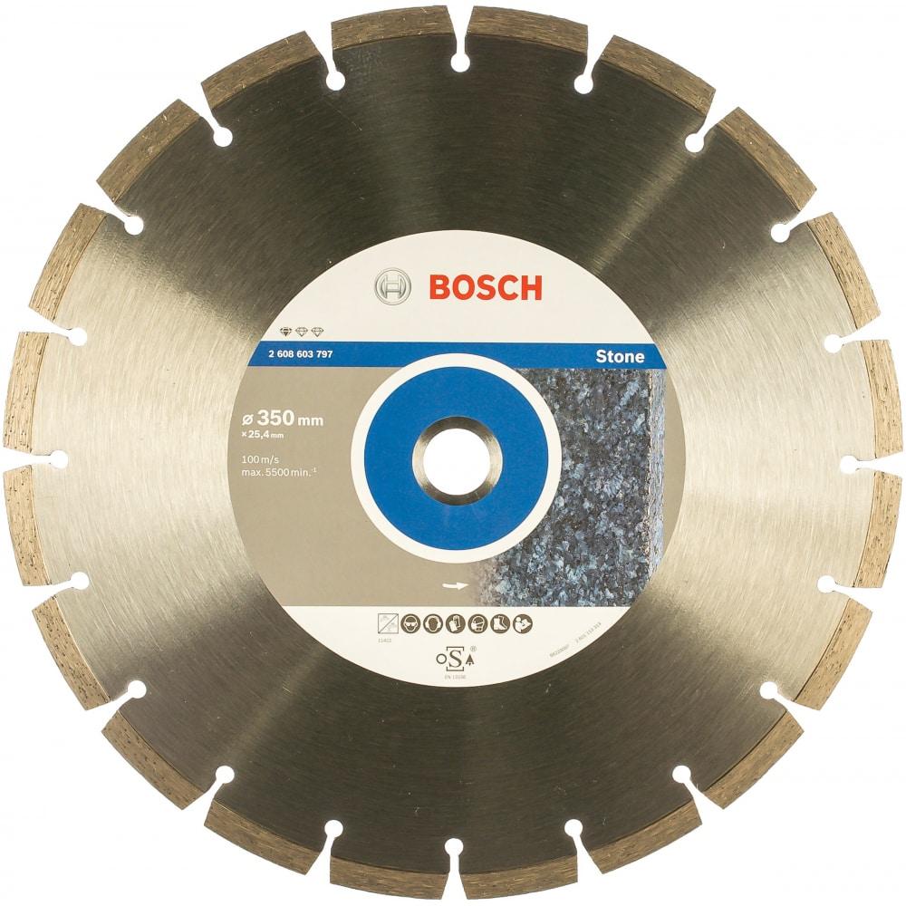 Купить Диск алмазный standard for stone (350х25.4 мм) bosch 2608603797