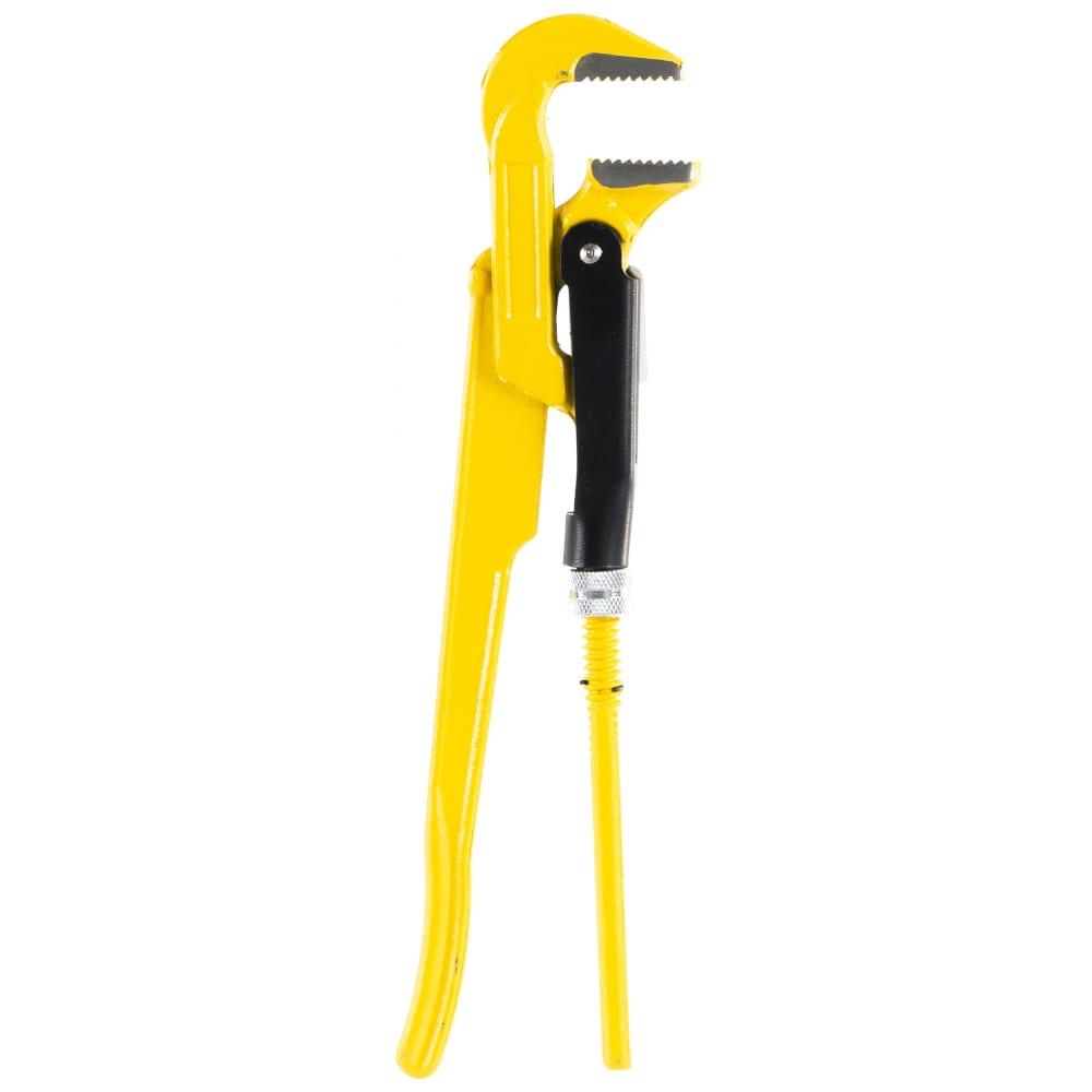 Купить Трубный кованый рычажный ключ с прямыми губками №1, 1 stayer profi 27311-1