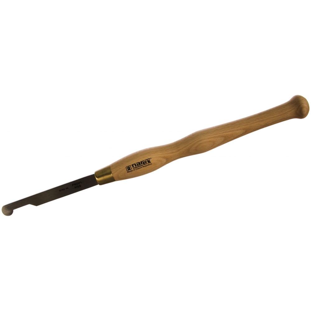 Резец токарный hss line profi (18х150х465 мм; закругленный правый) narex 818206
