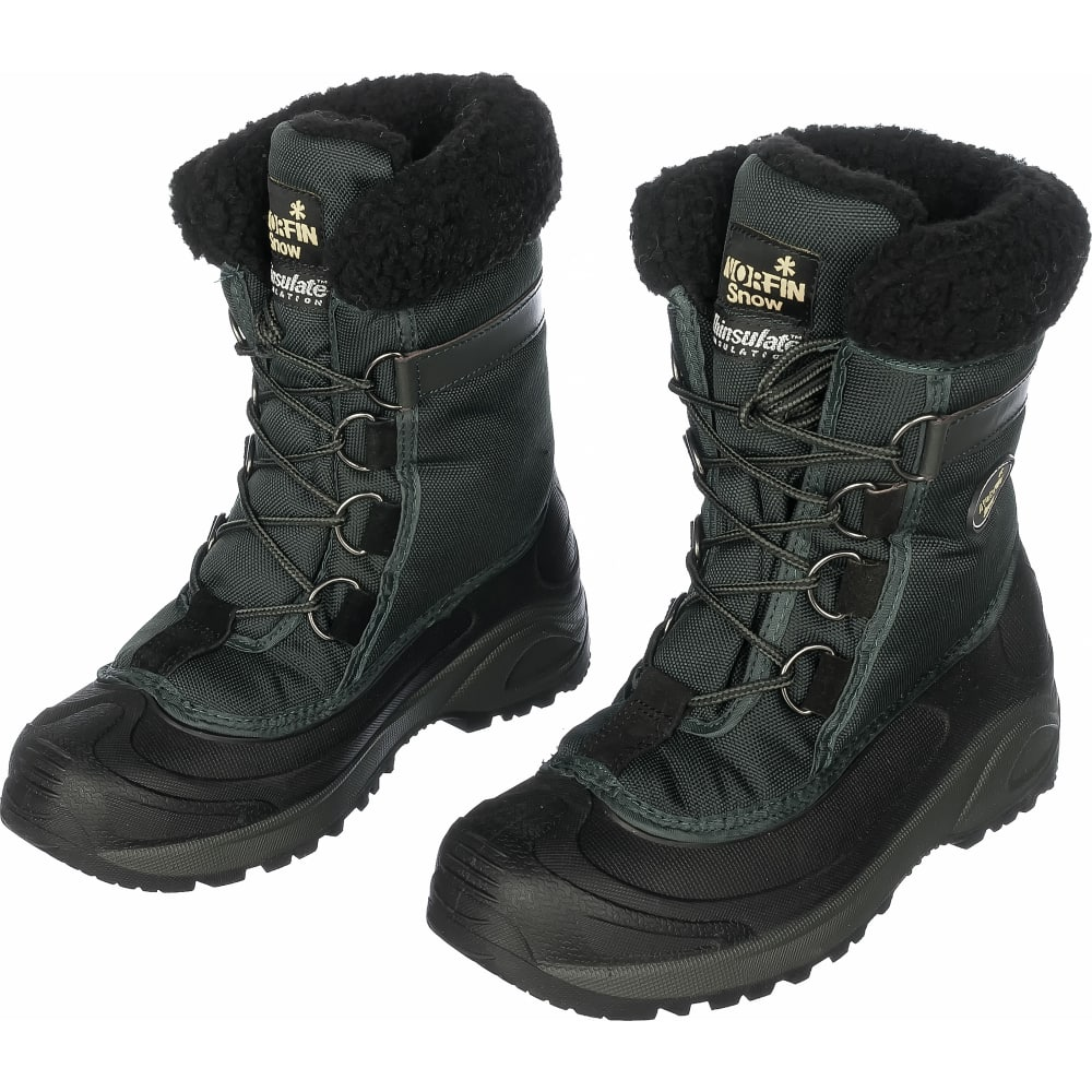 Зимние ботинки norfin snow р.42 13980-42Ботинки<br>Метод крепления: клеепрошивные ;<br>Материал верха: нейлон ;<br>Вес модели: 1.87 кг;<br>Размеры: 42 ;<br>Защитные свойства: термоизоляция ;<br>Высота: высокие ;