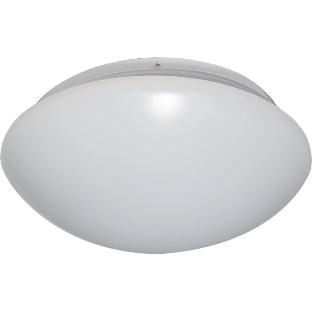 Накладной светодиодный светильник тарелка белый 12w 6400k feron al529 28561.