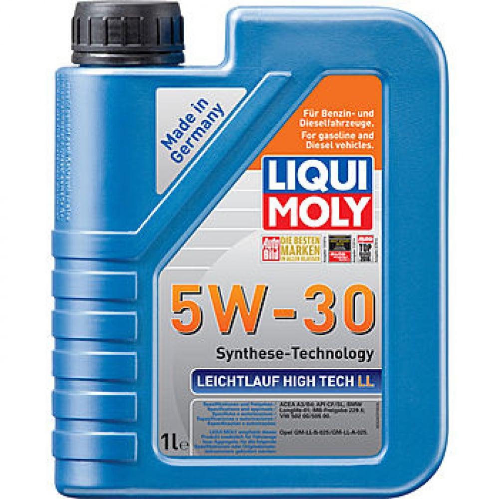 Купить Нс-синтетическое моторное масло liqui moly leichtlauf high tech ll 5w-30 1л 39005