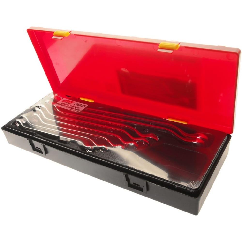 Набор накидных ключей 45град, в кейсе 8шт jtc-k6083