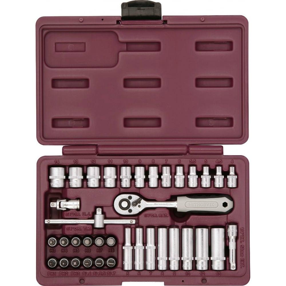 Набор инструмента thorvik uts0038 38 предметов 52056