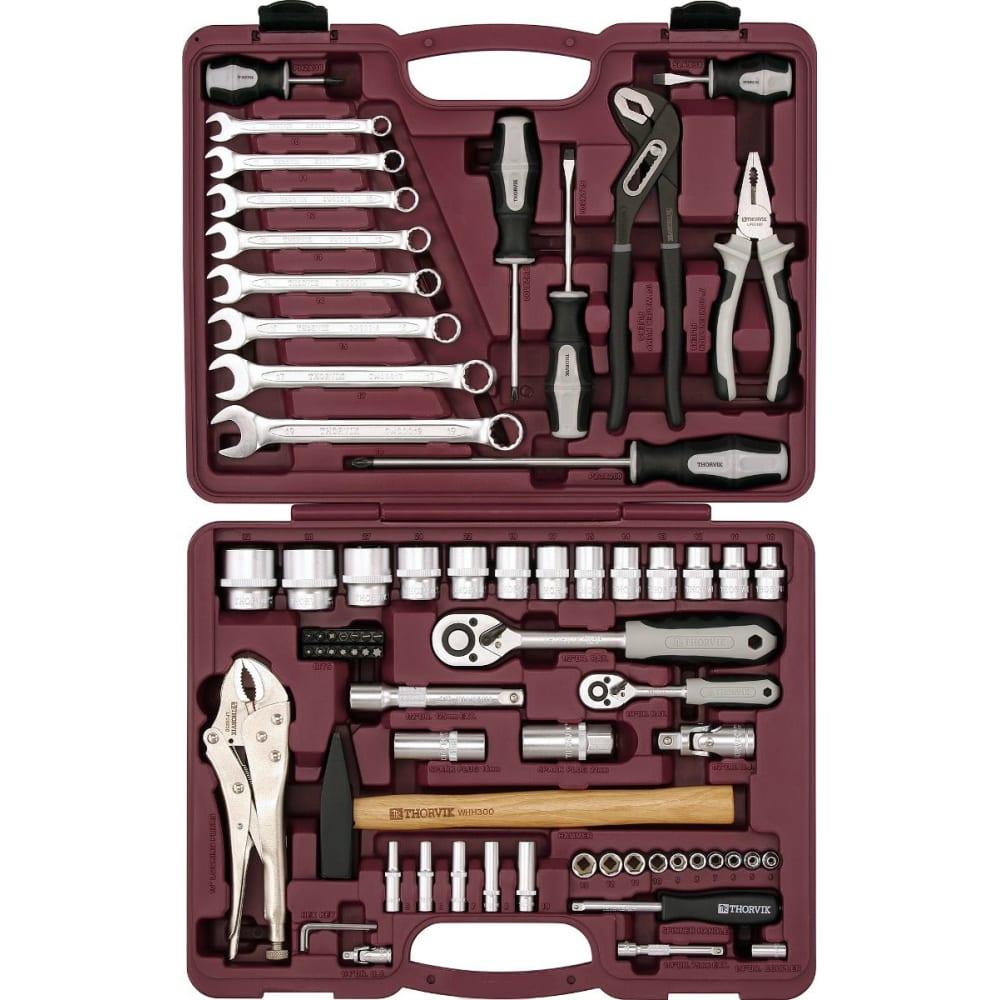 Универсальный набор инструмента thorvik uts0072 72 предмета 52059