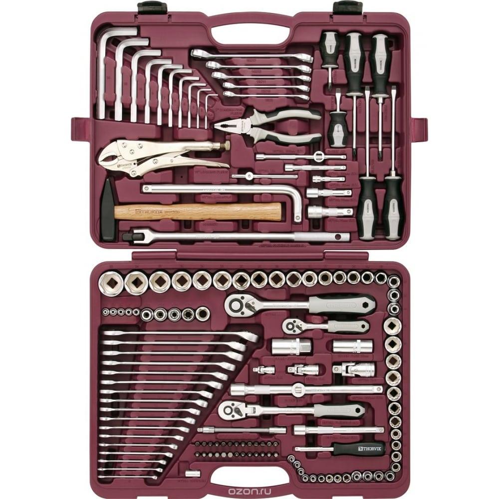 Универсальный набор инструмента thorvik uts0142 142 предмета 52063