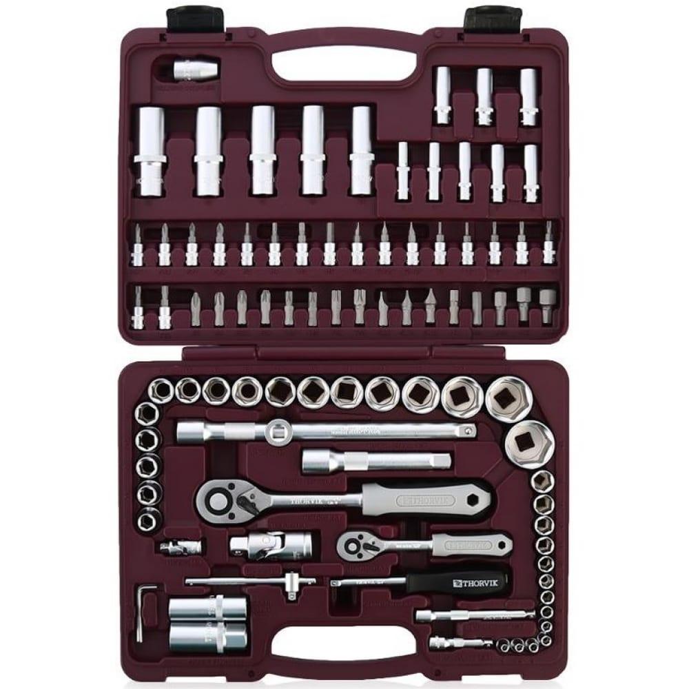 Универсальный набор инструмента thorvik uts0094 94 предмета 52061