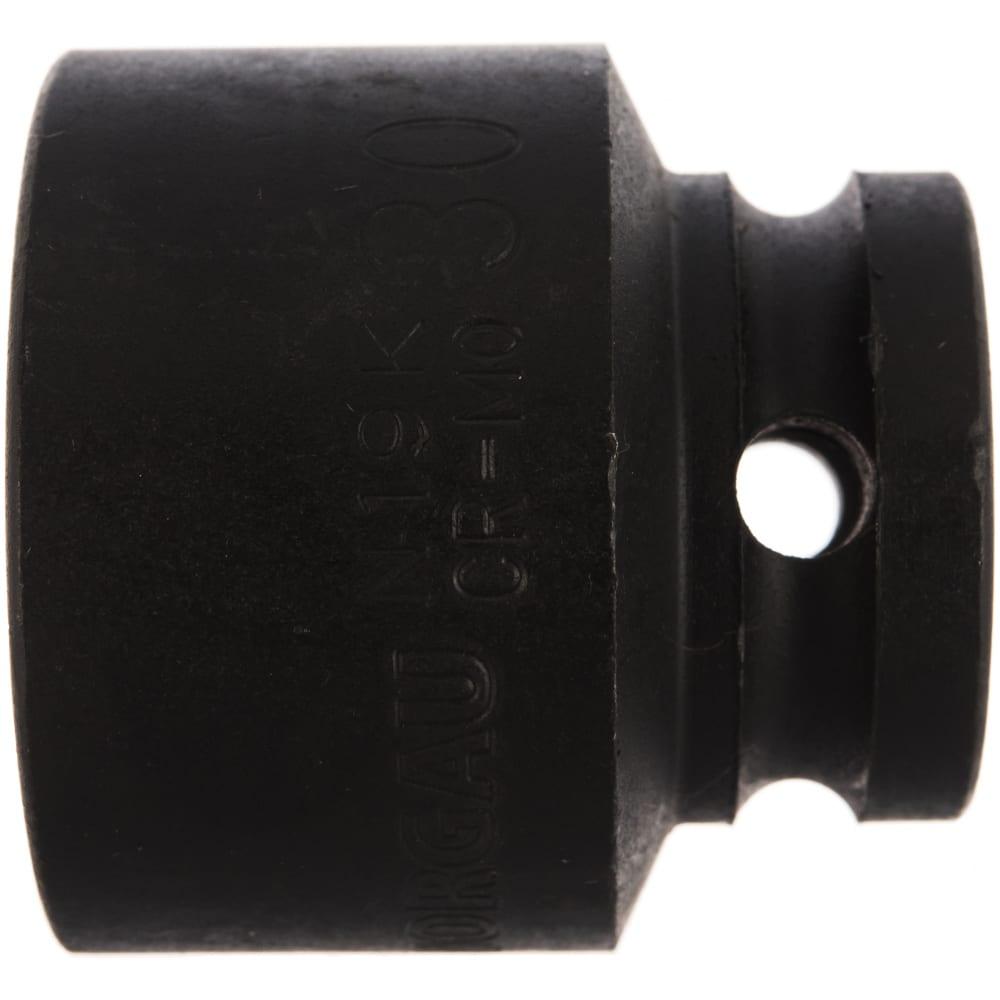 Головка ударная 6-ти гранная n19k-30 (30 мм; 1/2``) norgau 064041030