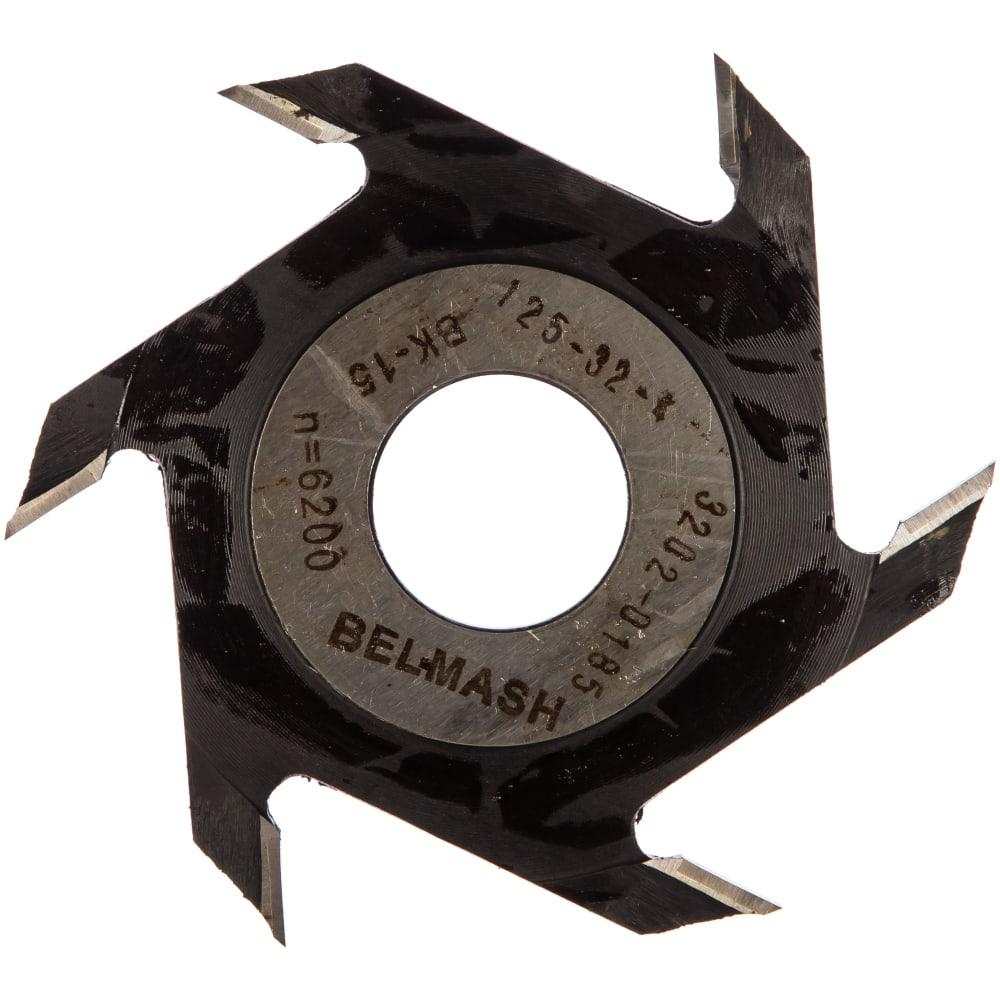 Фреза пазовая (125х32/30х4 мм) белмаш rf0011a