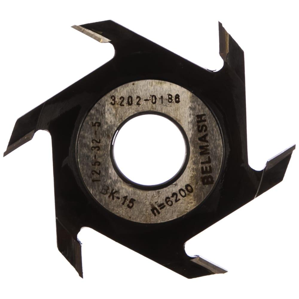 Фреза пазовая (125х32/30х5 мм) белмаш rf0012a