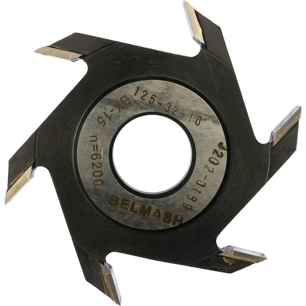 Фреза пазовая (125х32/30х10 мм) белмаш rf0015a