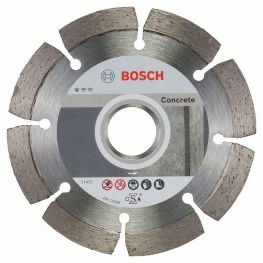 Купить Диск алмазный по бетону (115х22.2 мм)10 шт.bosch 2608603239