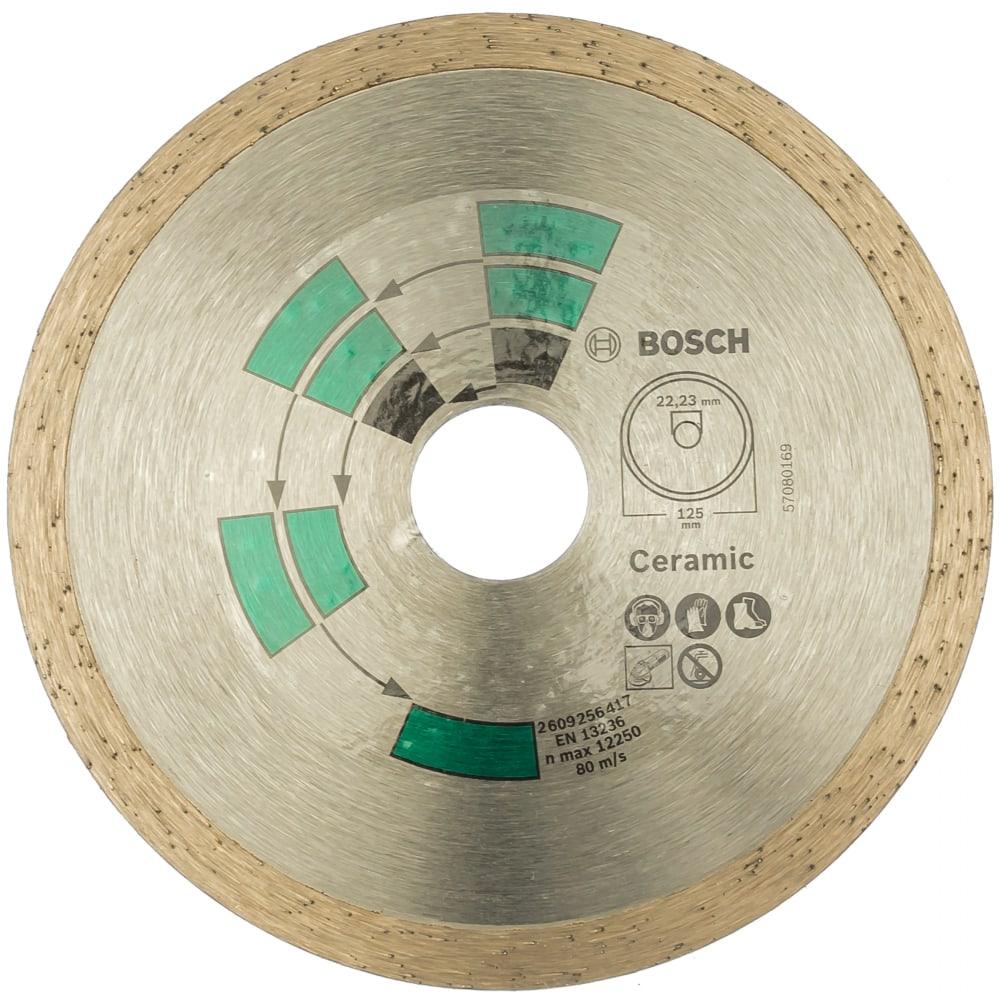 Купить Диск алмазный по плитке(125х22.2 мм)bosch 2609256417