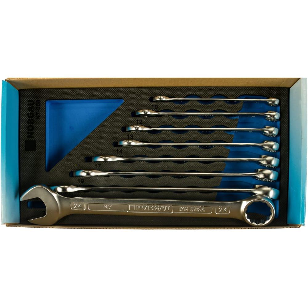 Набор комбинированных гаечных ключей norgau n7-008 8 шт 060207808