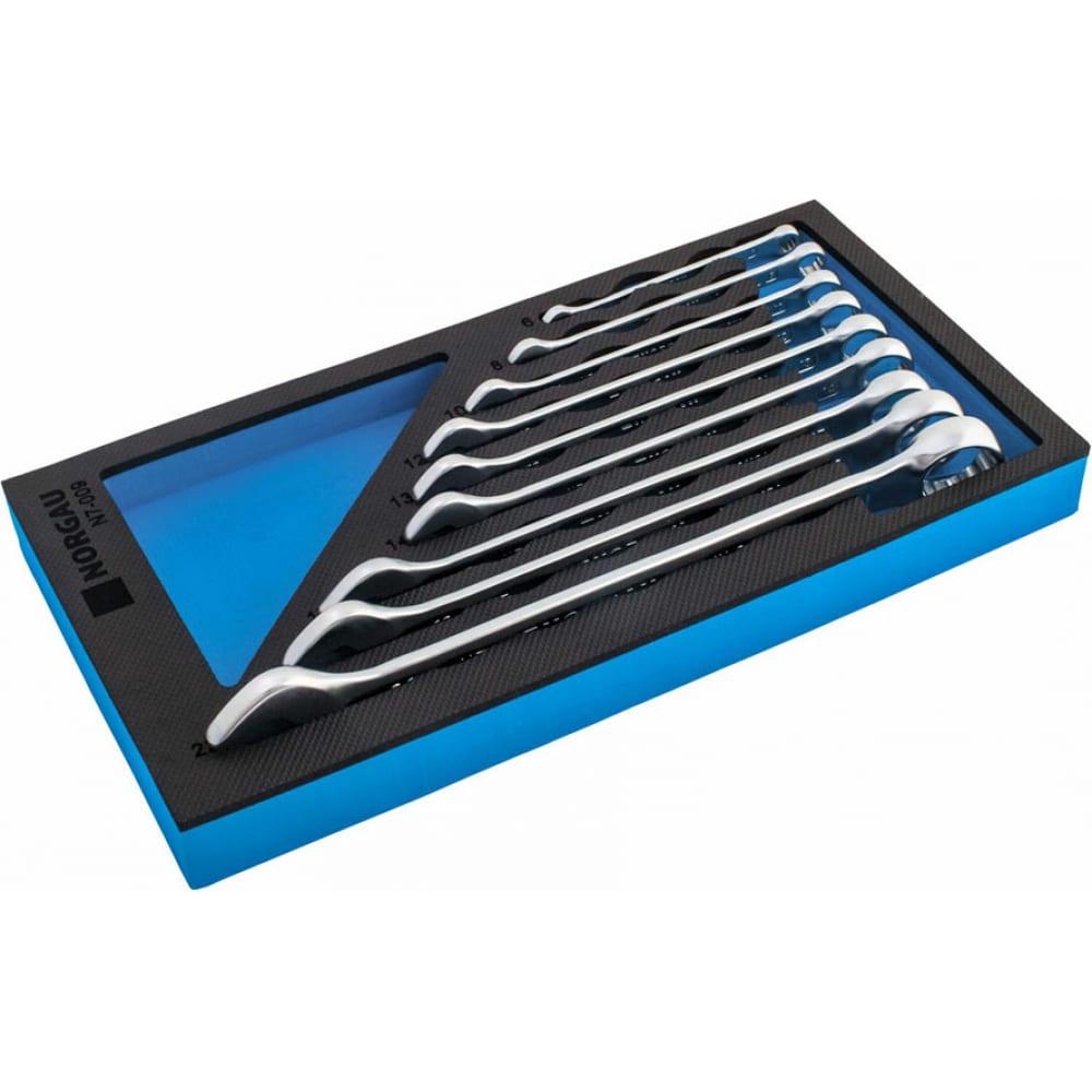Набор комбинированных гаечных ключей norgau n7-009 9 шт 060207809
