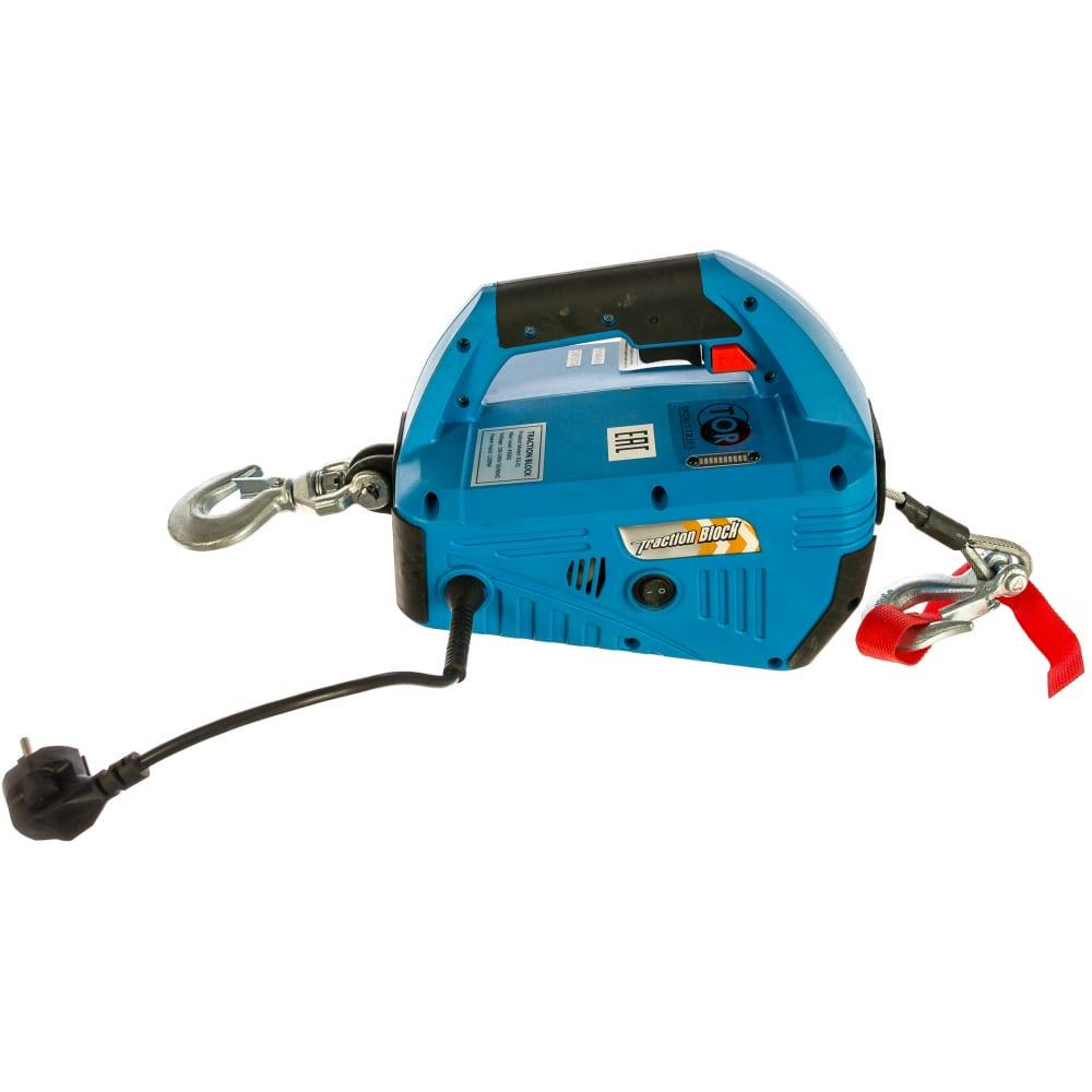 Купить Электрическая переносная лебедка tor sq-01 450 кг 4, 6 м 220 в 1140455