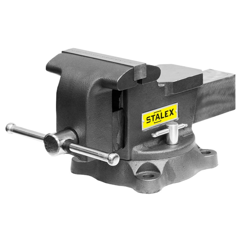 Слесарные тиски stalex горилла m60d