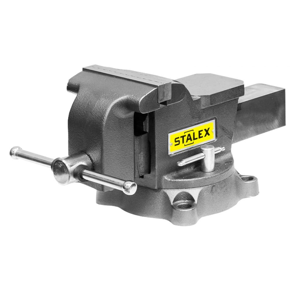 Слесарные тиски stalex гризли m50