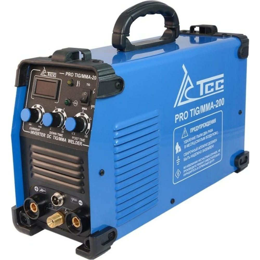 Купить Сварочный аппарат тсс pro tig/mma-200 067063