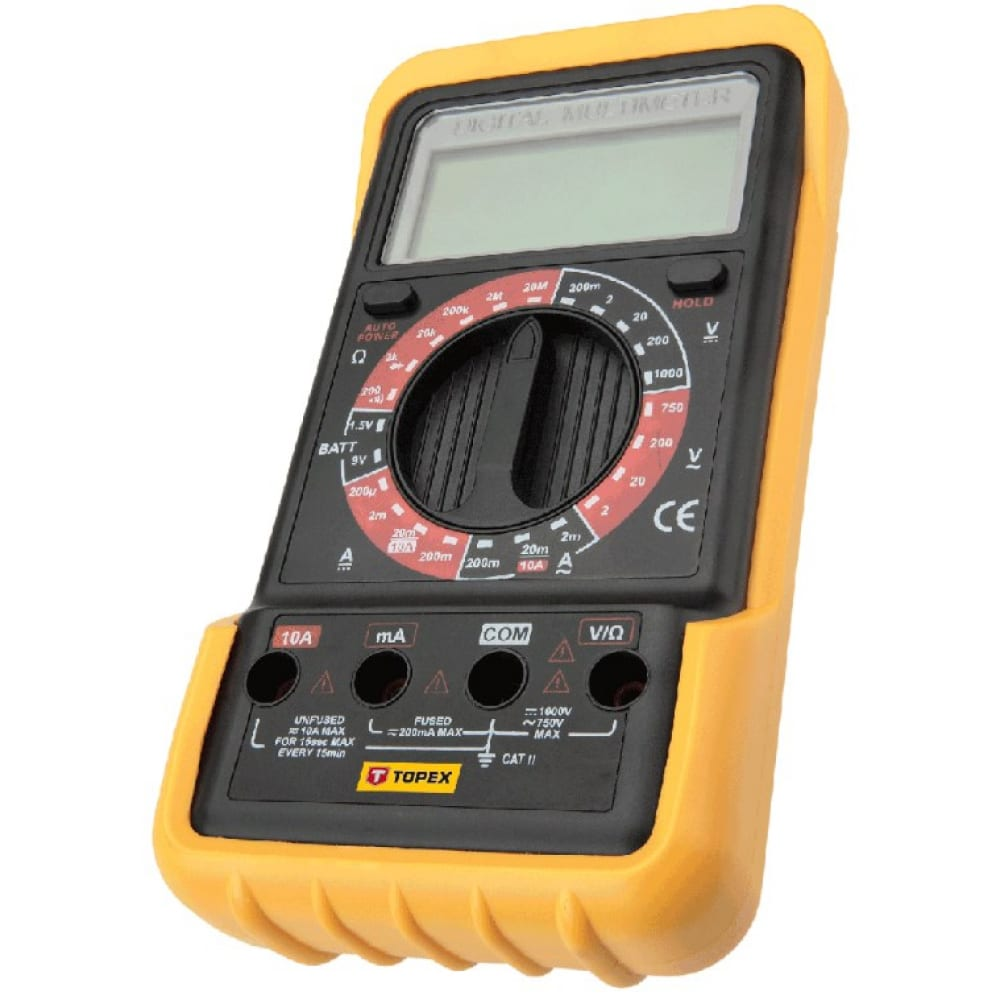 Цифровой мультиметр topex 94w102