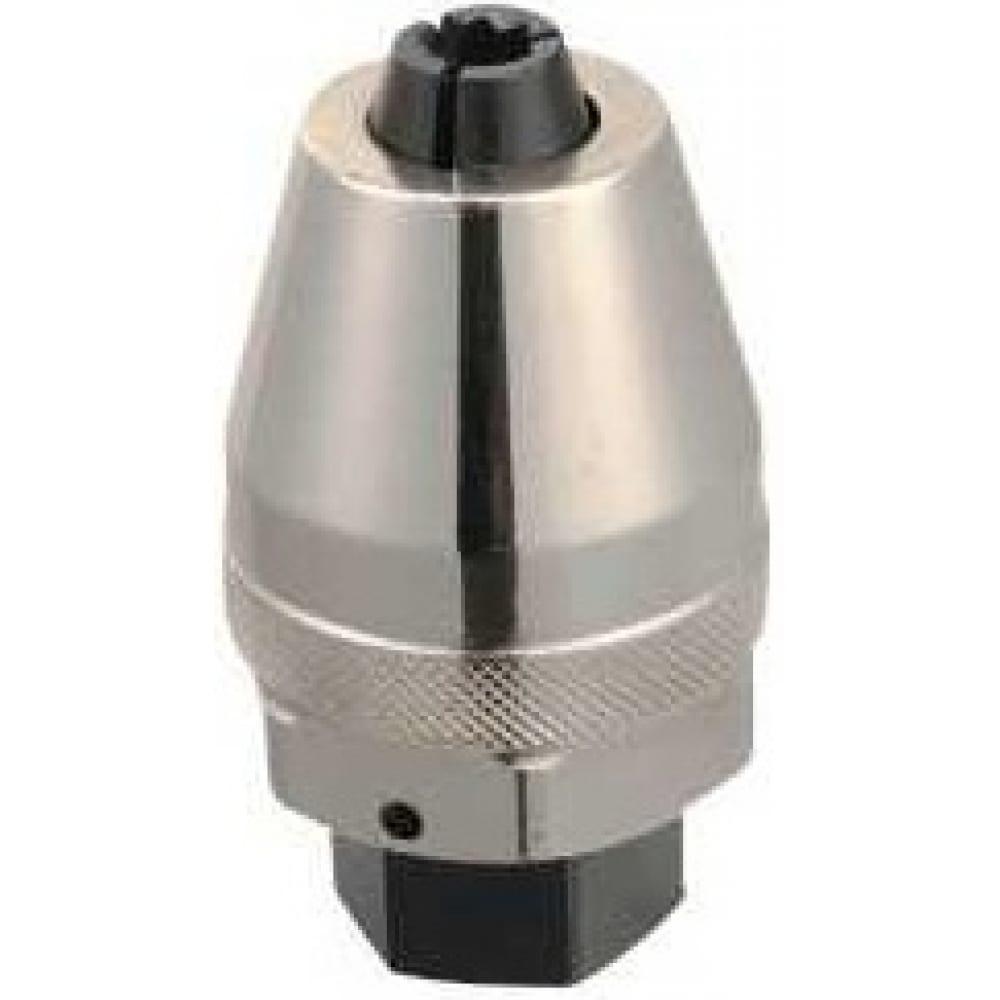 Шпильковёрт-экстрактор с цанговым зажимом, под вороток 3/8, 55мм force 818b01