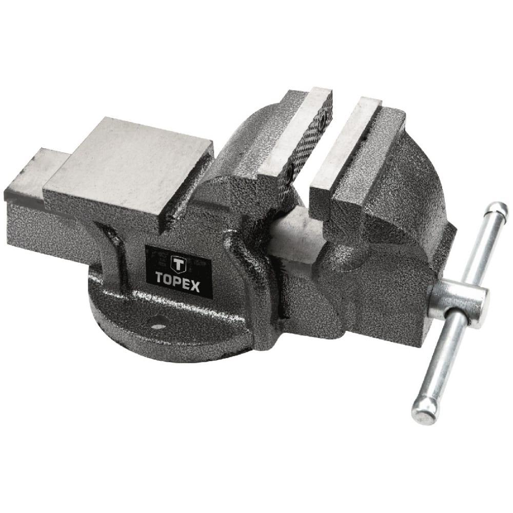 Тиски 75 мм topex 07a107