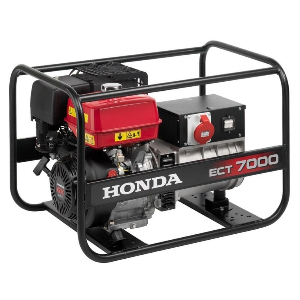 Бензиновый генератор honda ect7000k1rg