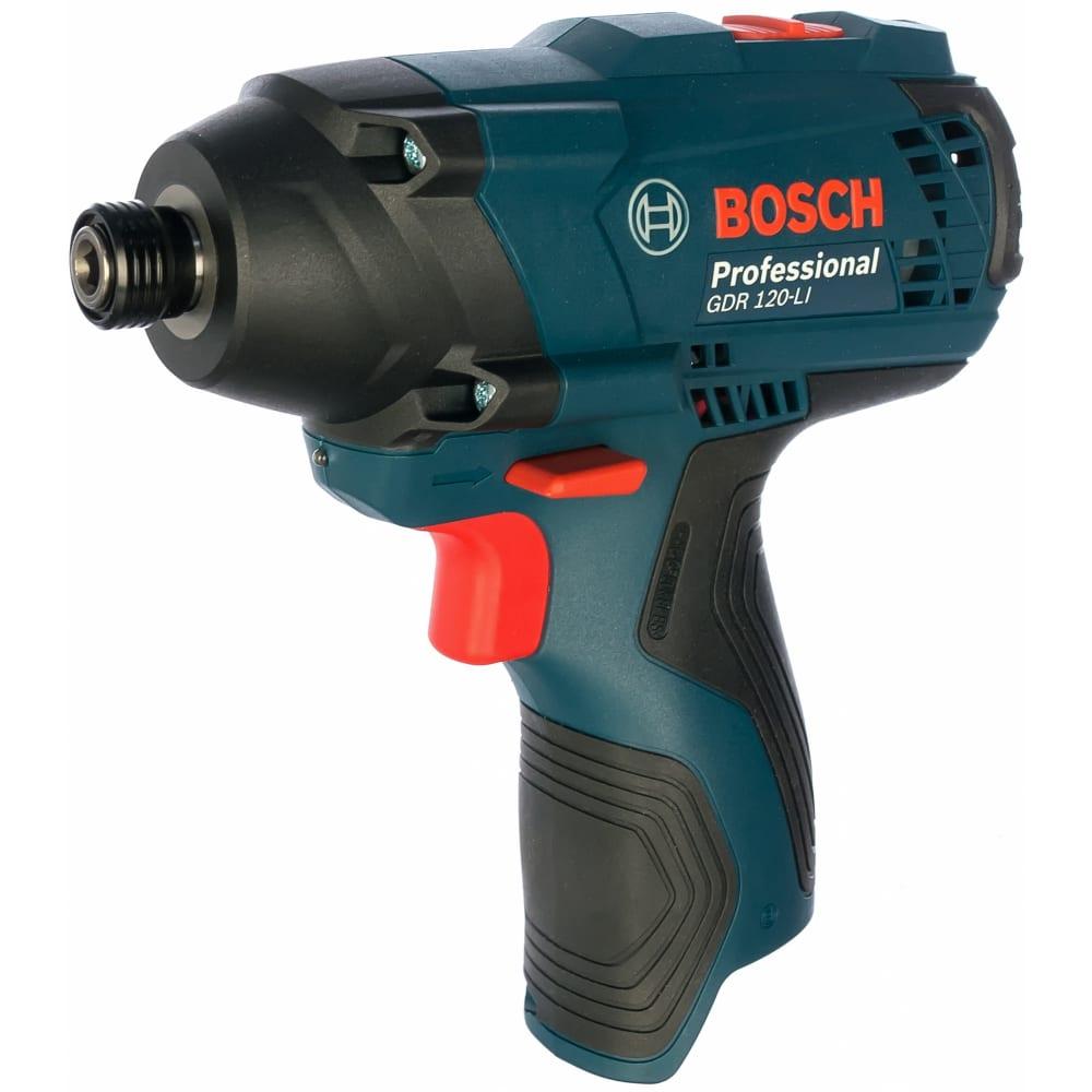 Купить Аккумуляторный ударный гайковерт bosch gdr 120-li solo 0.601.9f0.000