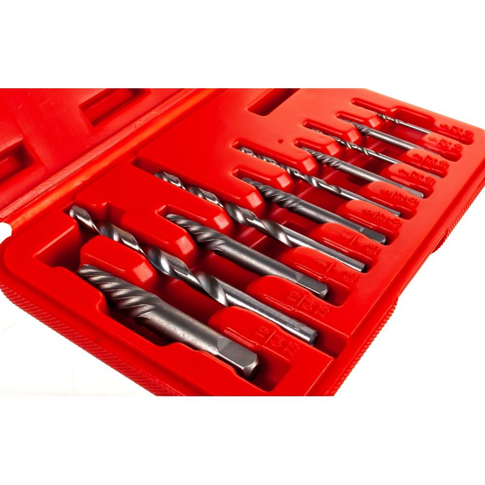 Набор экстракторов и сверл 10шт kt tools ka-7324k