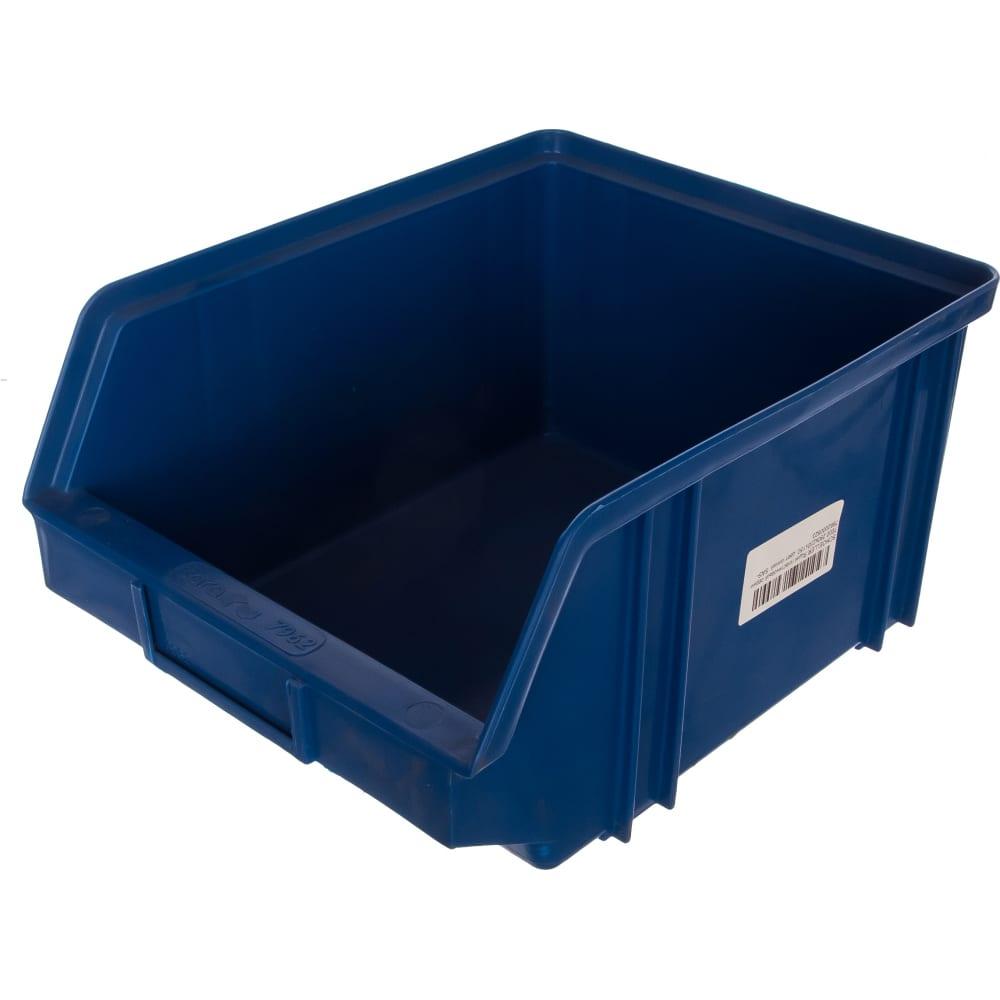 Пластиковый ящик 290х230х150мм, синий schoeller 7000