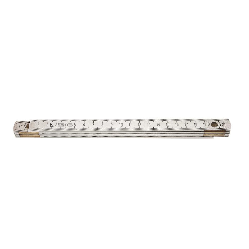 Купить Метр складной, длина 1 м, алюминий 1 кл. точности калиброн 116533
