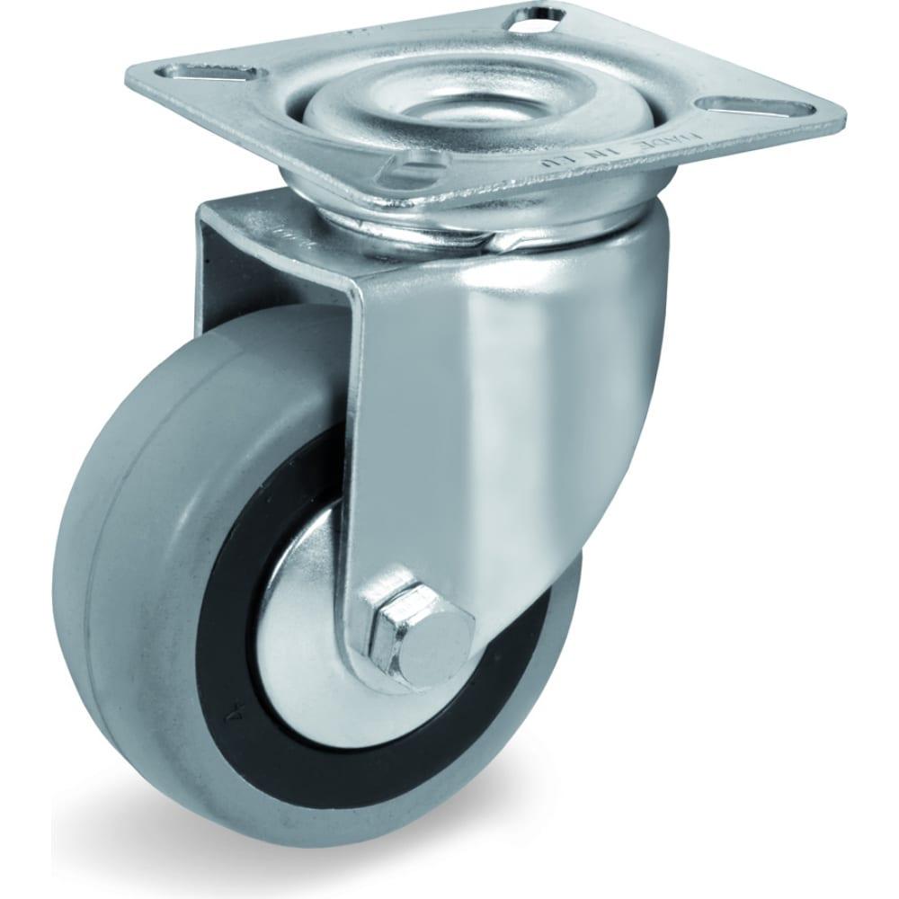 Купить Колесо с вращающейся опорой и пластиной крепления (50 мм; 35 кг) tellure rota 374101