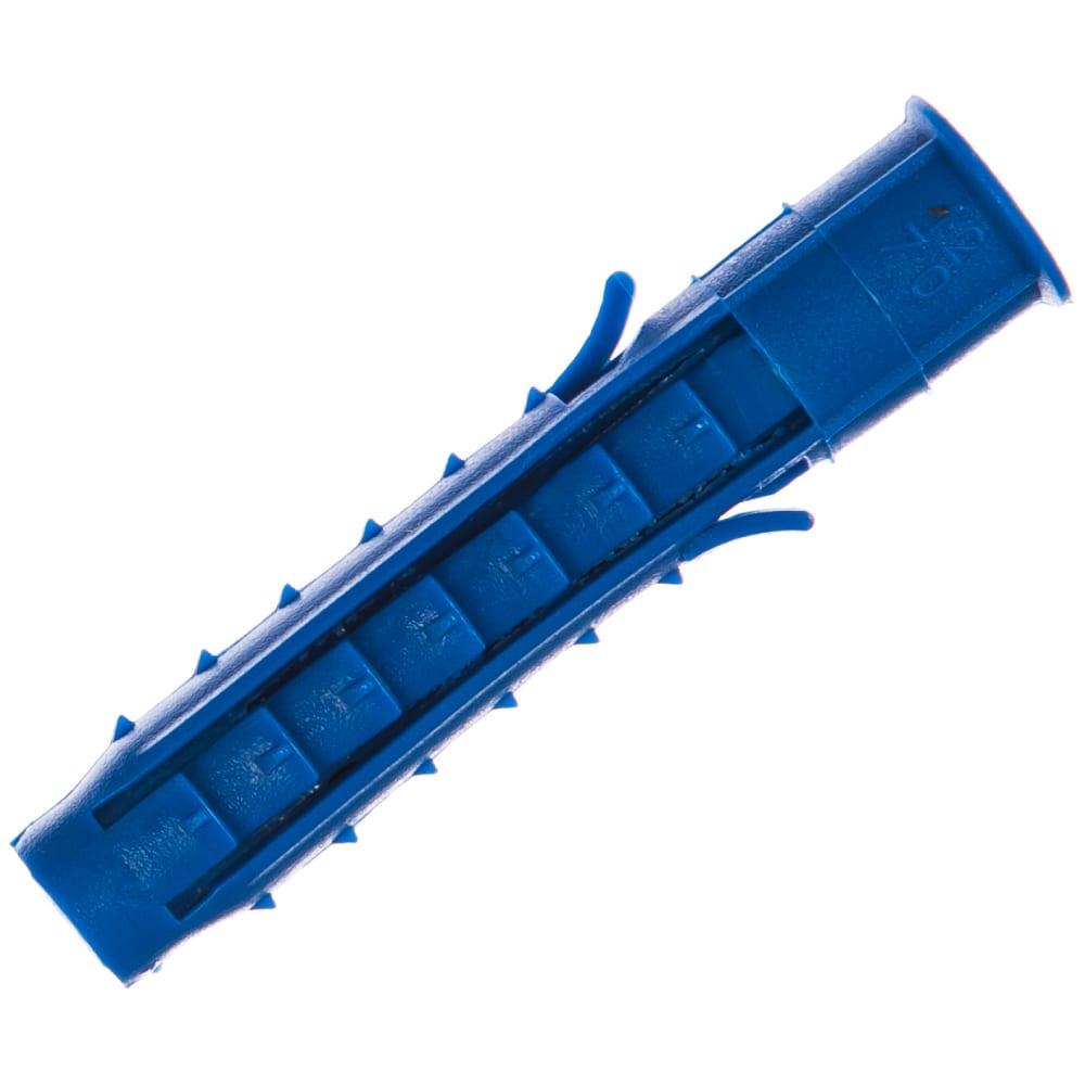 Купить Распорный дюбель чапай 12х70 шипы+усы, синие 200шт - пакет tech-krep 111137