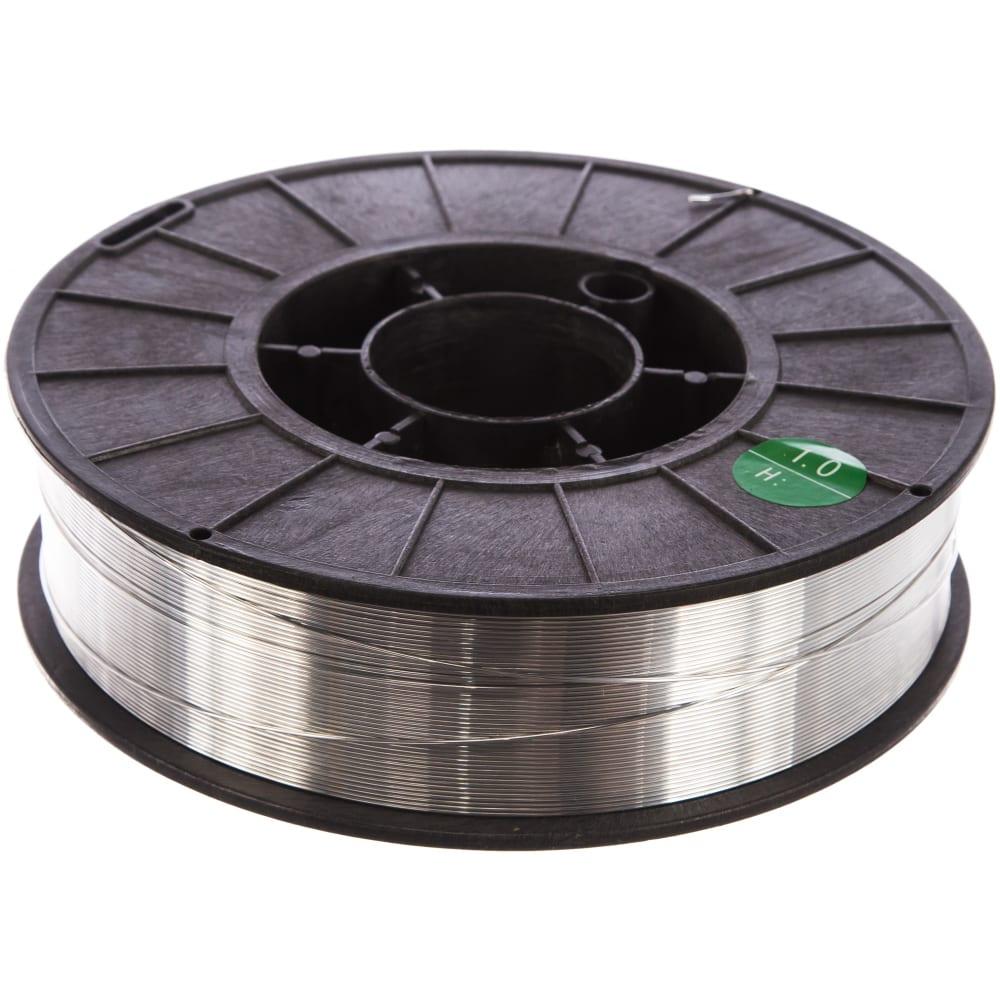 Проволока сварочная алюминиевая er4043 (1 мм; катушка 2 кг) elkraft 93611