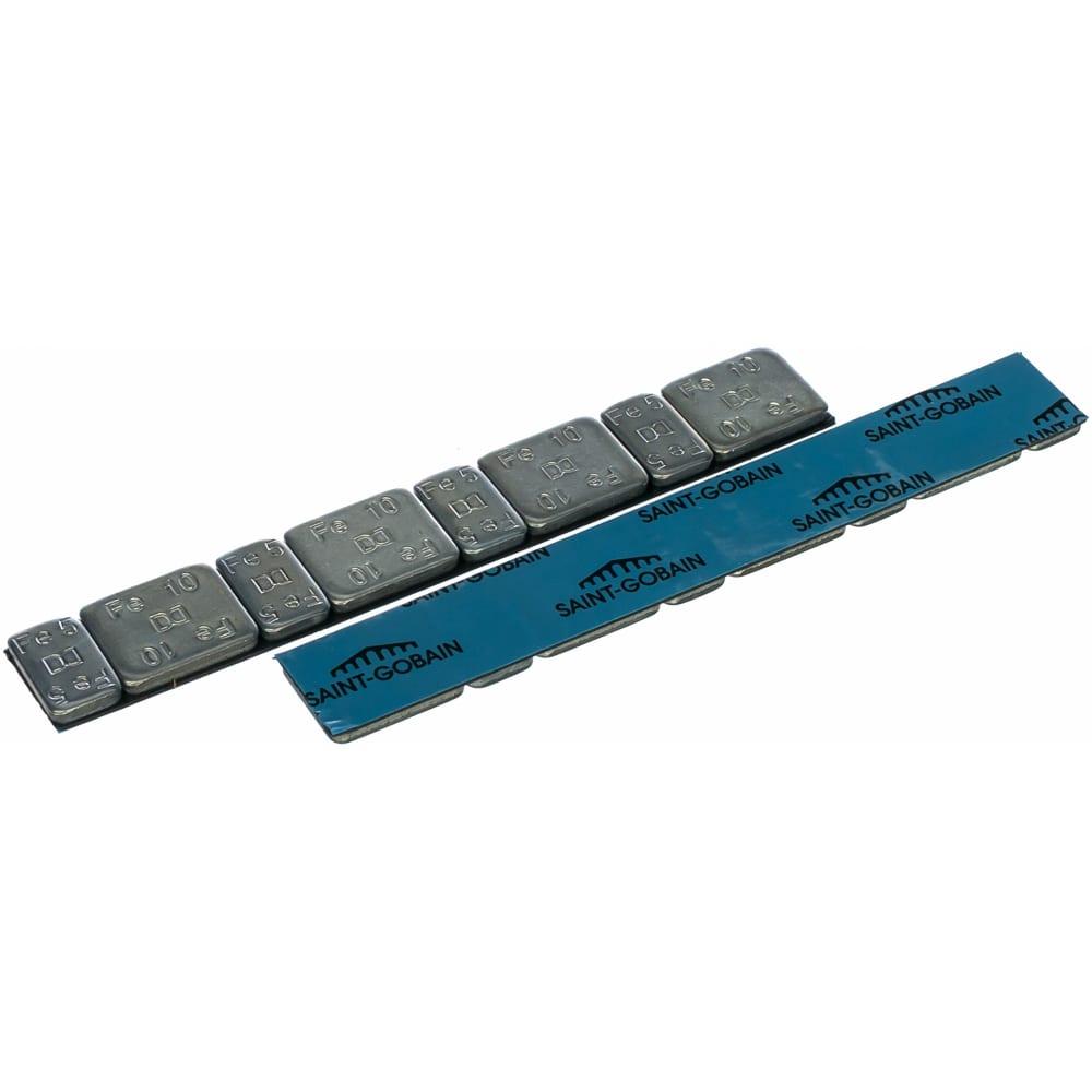 Купить Стальные оцинкованные самоклеящиеся грузы 5гх4+10гх4, 50 штук dr. reifen gz-0072