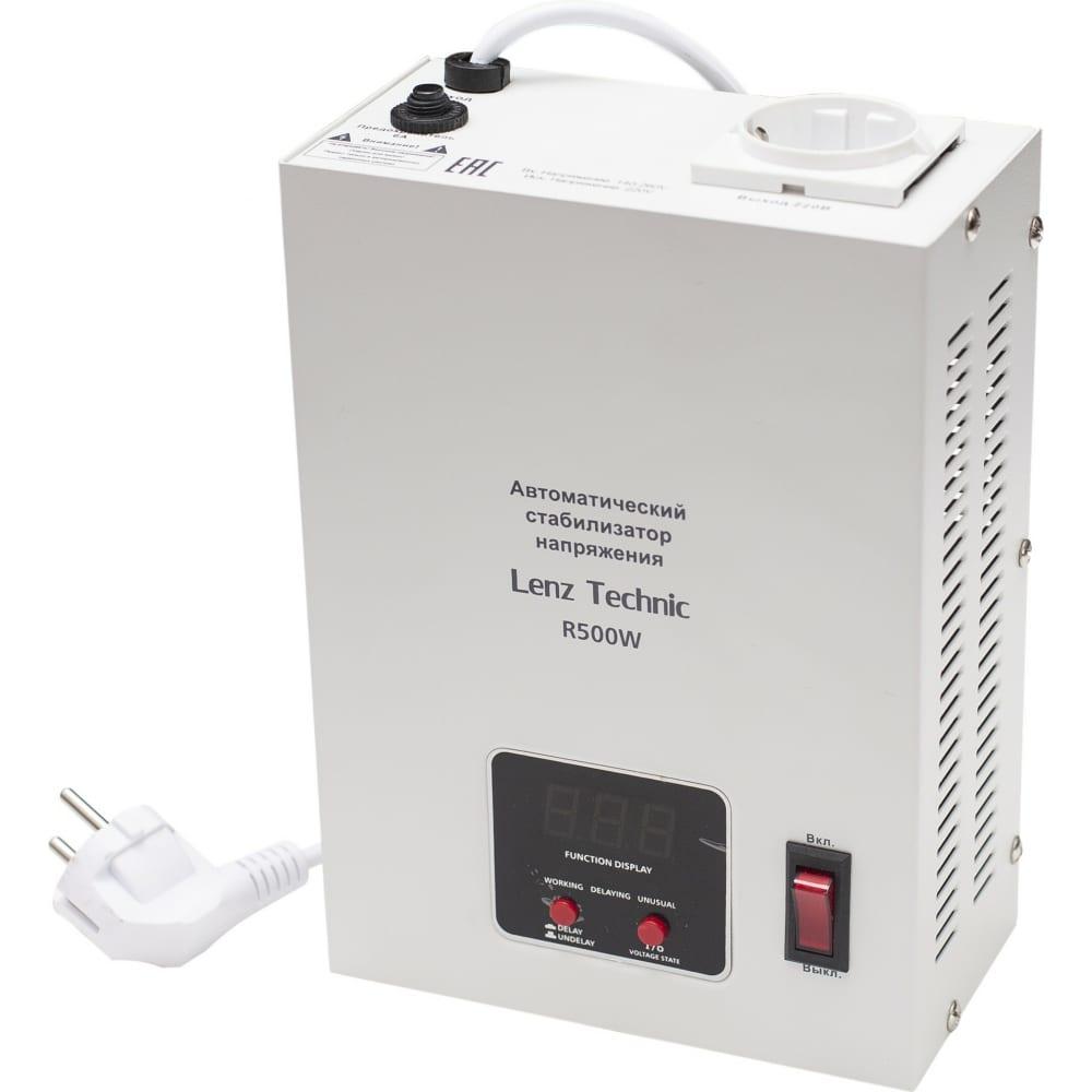 Автоматический стабилизатор напряжения lenz technic r500w