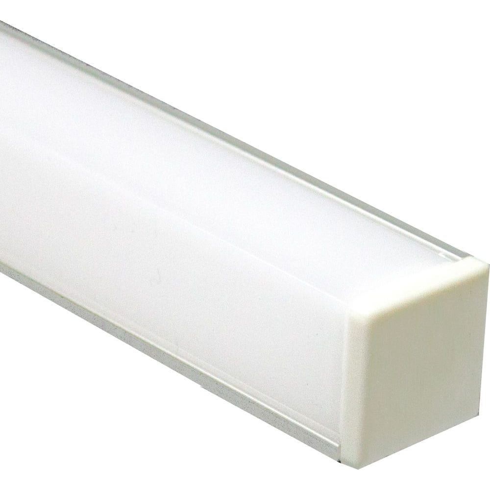 Купить Алюминиевый угловой квадратный профиль, серебро feron cab281 10300