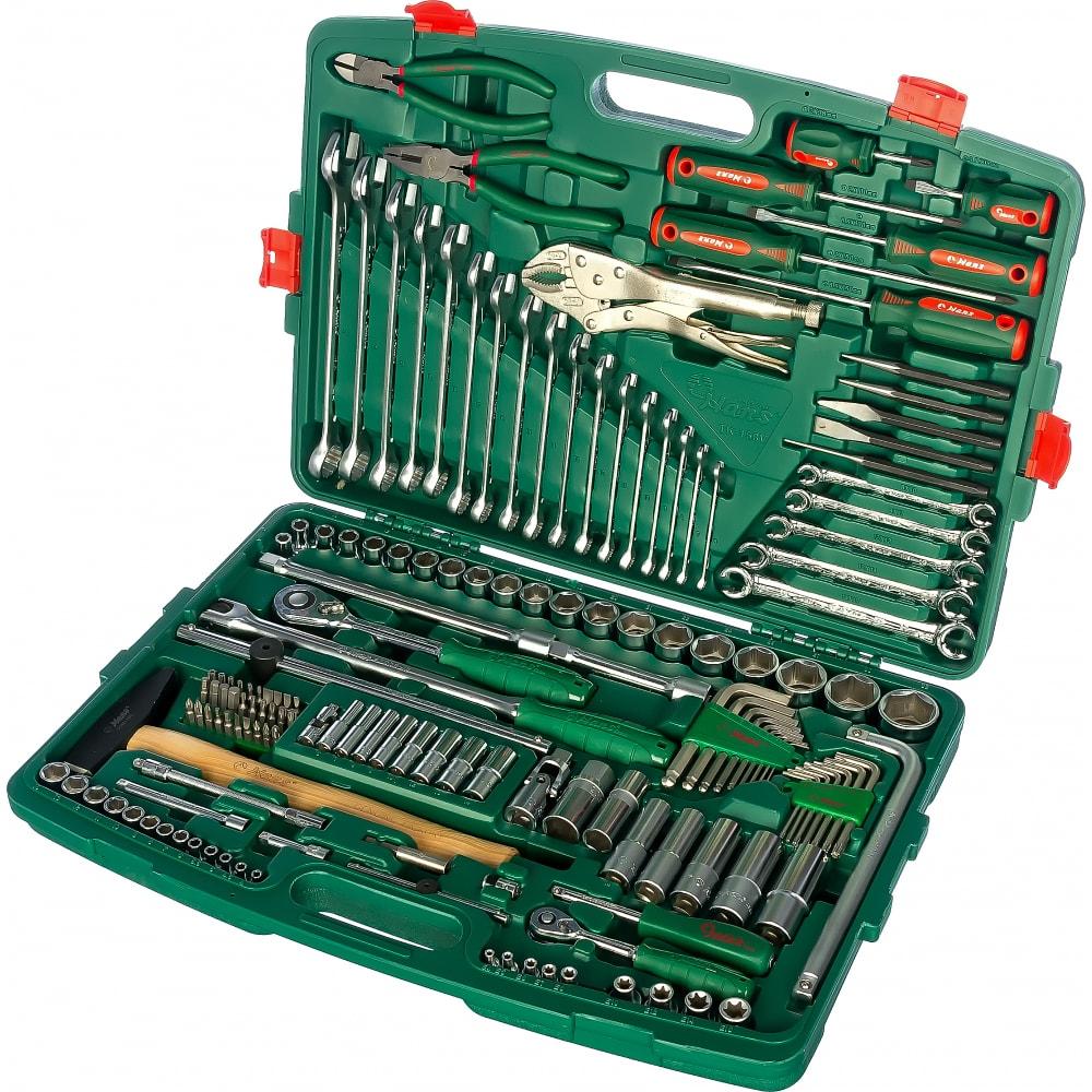 Универсальный набор инструментов hans 158 предметов tk-158v