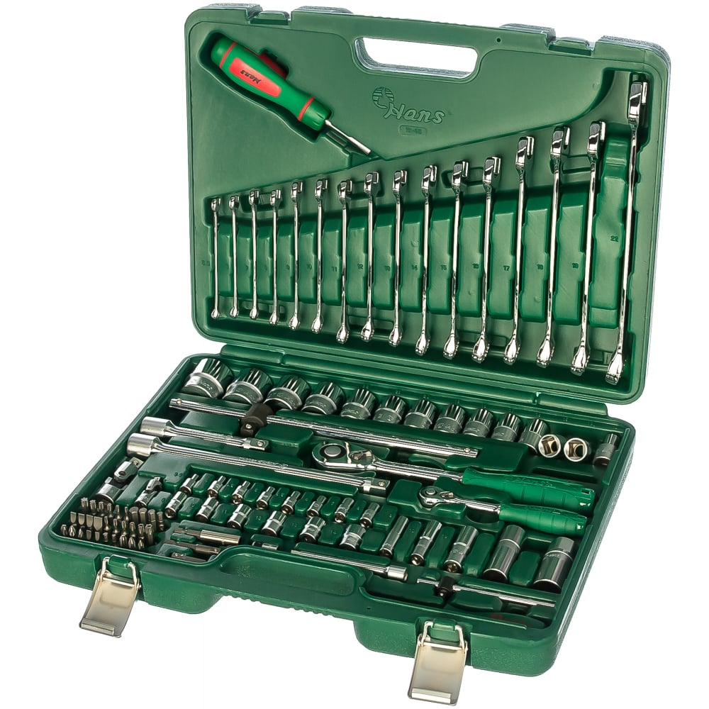 Универсальный набор инструментов hans 95 предметов tk-95